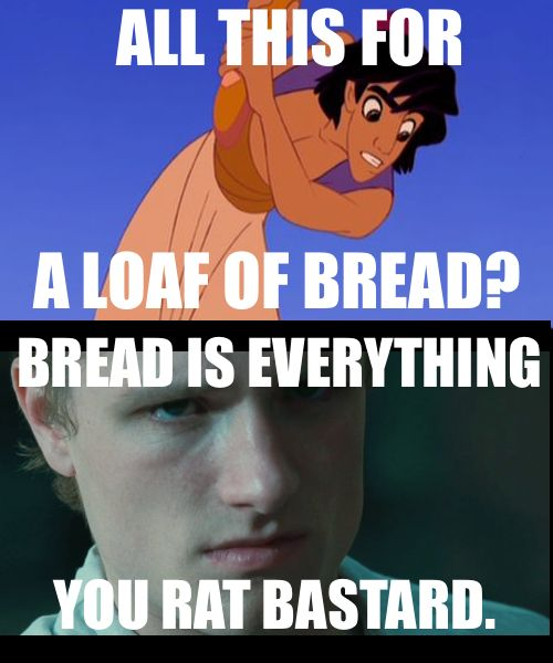 : Laughing, Hunger Games Memes, The Hunger Games, Funny Stuff, Hunger Games Humor, Rats, Aladdin, The Breads, Disney Movie