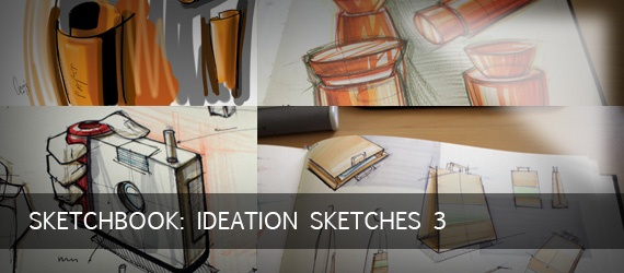 Sketchbook: Ideation Sketches 3