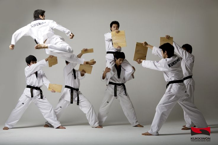 http://www.cosmojin.com/eng/main.asp  Taekwondo.  Korea is the country in which Taekwondo originated. Taekwondo is the national sport of Korea.  Taekwondo is an official Olympic event.  The martial art using only hands and feet to attack or defend
