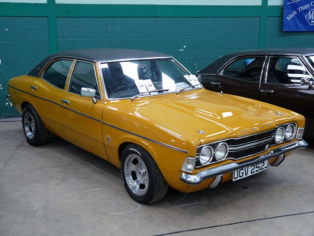 Cortina Mk3 GXL by wyvernsaab, via Flickr