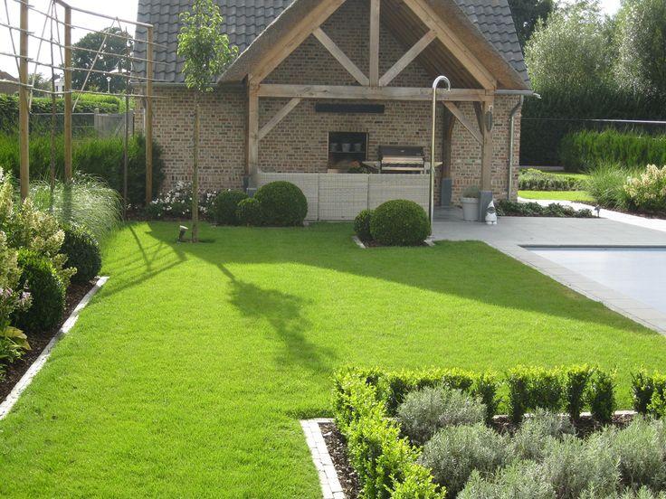 Portfolio trv tuinaanleg landelijke tuin met zwembad buitenkeuken pinterest tuin and met - Tuin met zwembad design ...