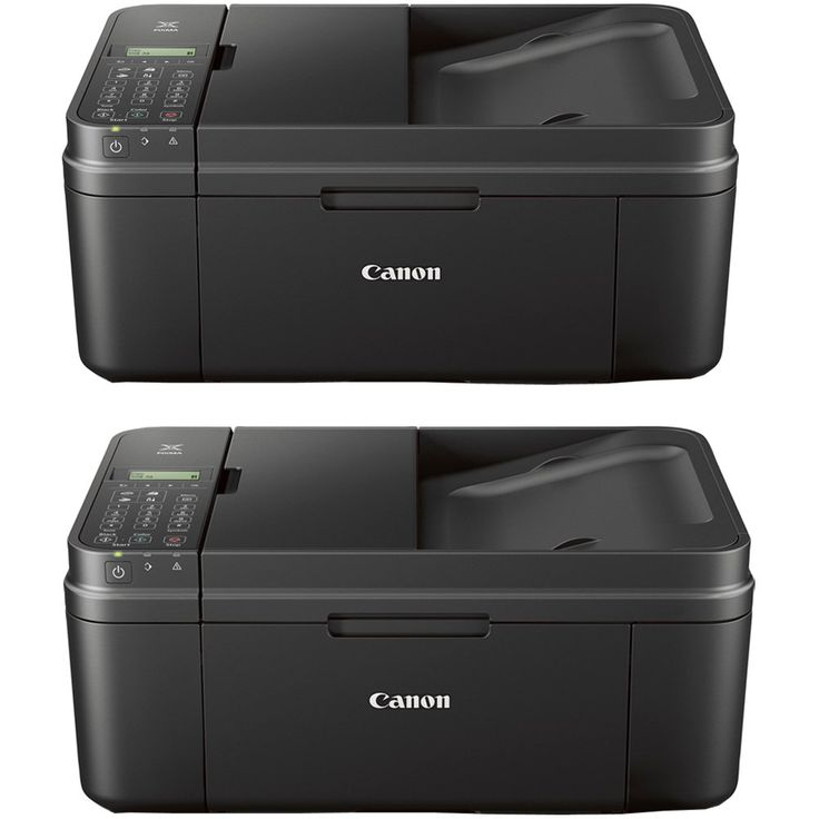 Canon PIXMA MX492 WiFi All-In-One Compact Size Printer Scanner Copier Fax (2 Pack)