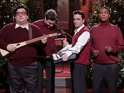 """""""I don't care what your momma says christmas time is here"""" ... SNL :)"""