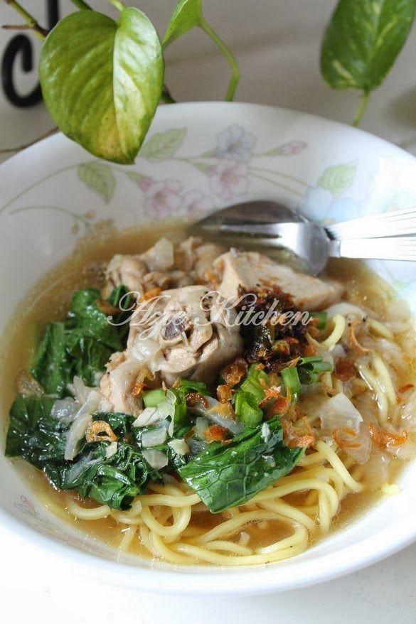 Azie Kitchen Mee Sup Istimewa Yang Sangat Sedap