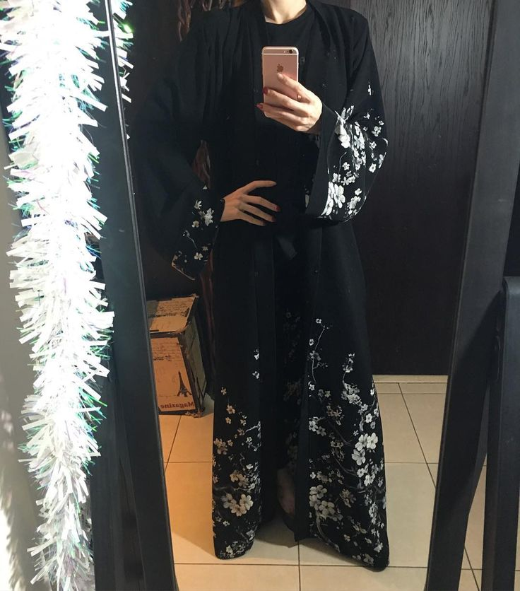 Beatuful black abaya by OC fashion design