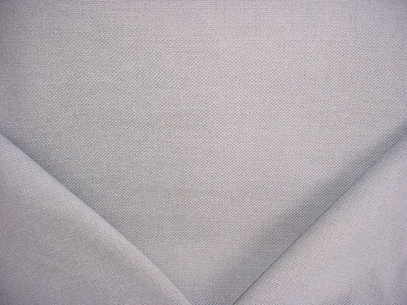 1 yard Clarence House 34353 Rustic Linen in Chambray - Heavy Chenille Basket Linen Upholstery Drapery Fabric - Free Shipping