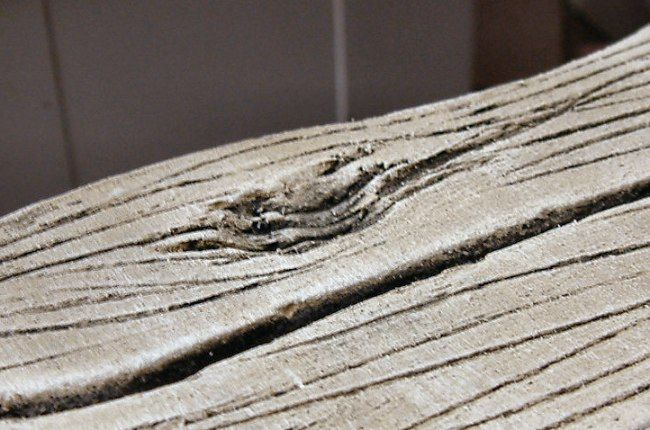 Tutorial: How to Create Faux Weathered Wood out of Foam Insulation Board - Love it!