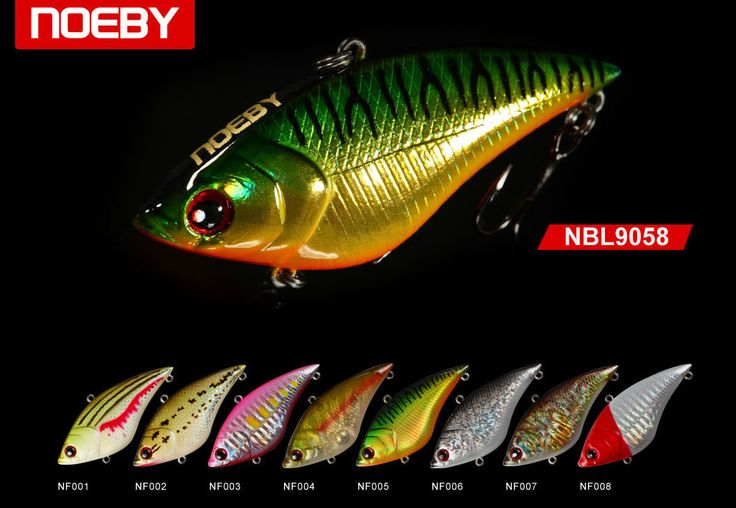 NOEBY fishing tackle offering vibes lures at very low prices.We have vibes lures available in different shapes and designs in attractive colors that attract fishes.Order you lures now. http://bit.ly/2pEPZOw