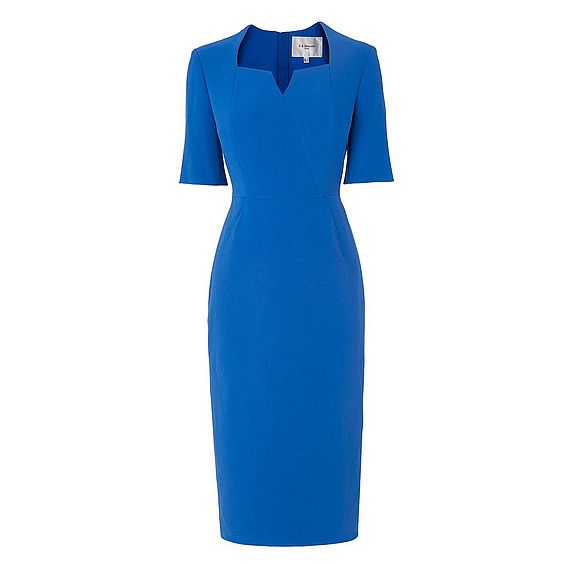 Sam Tailored Blue Dress