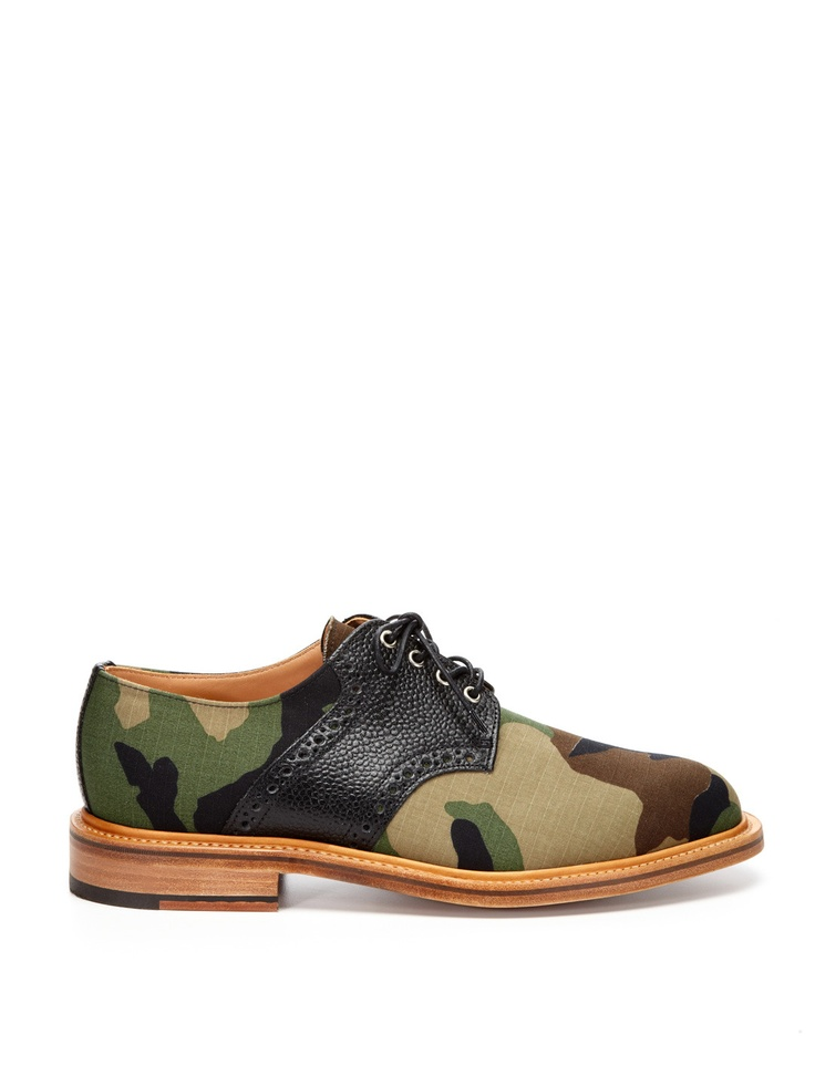 A cool pair of Woodland Camo-print Derby Lace-Ups by Mark McNairyMark Mcnairy, Woodland Camo, Mcnairy Woodland, Derby Laceup, Derby Lace Up, Dresses Man, Camo Shoes, Camo Derby, Laceup Shoes