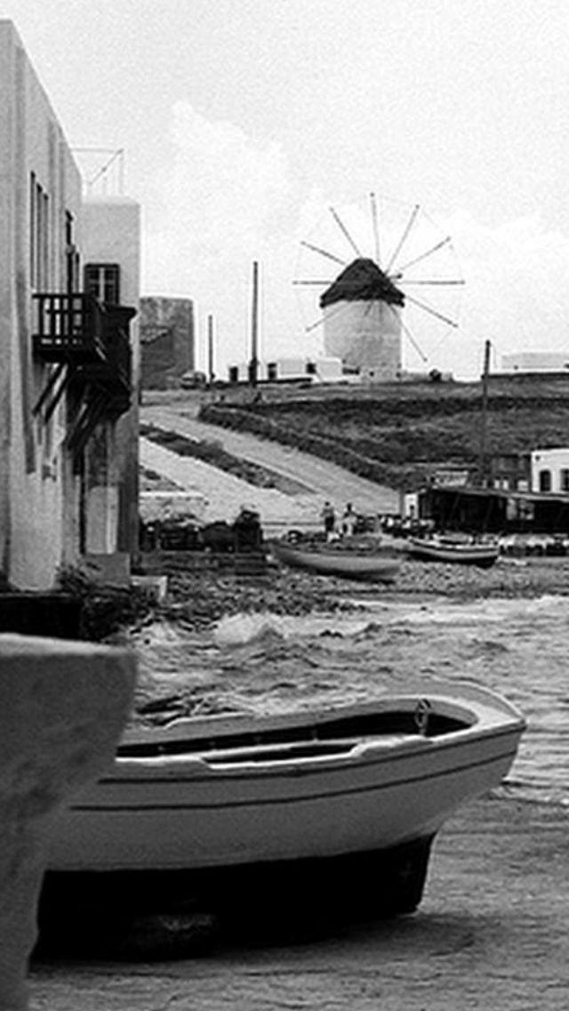 #Mykonos ,1976! Scarpa &Windmill