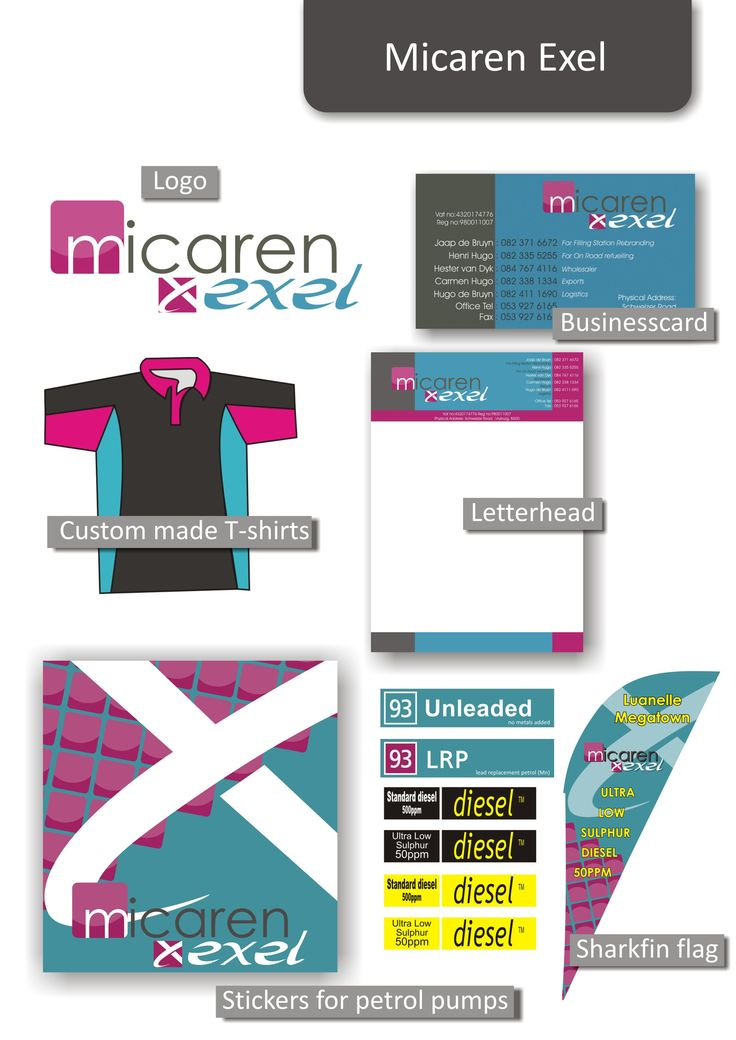 Micaren Excel corporate identity