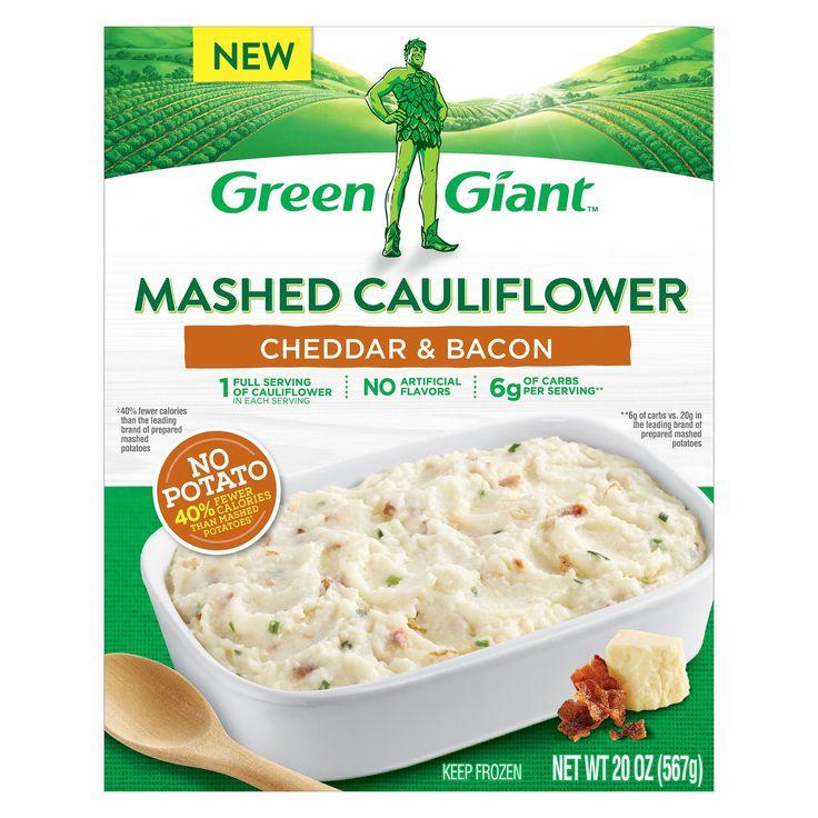 Green Giant Mashed Frozen Cauliflower Cheddar & Bacon