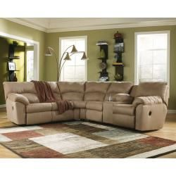 61700S1 in by Ashley Furniture in Brownwood, TX - Amazon - Mocha 2 Piece Sectional