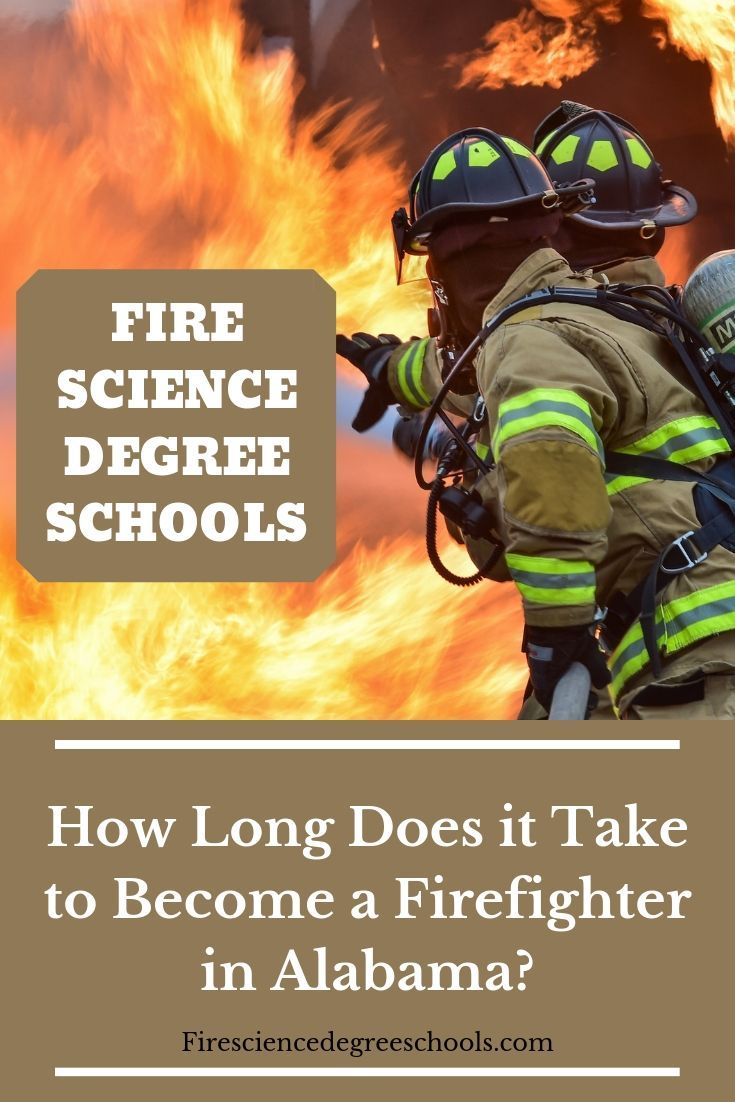 How Long Does It Take To Become A Firefighter In Alabama