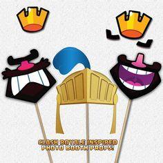 Choque Royale inspirado cumpleaños fiesta por MakeupAndManga
