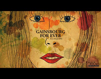 "Check out new work on my @Behance portfolio: ""Gainsbourg For Ever 