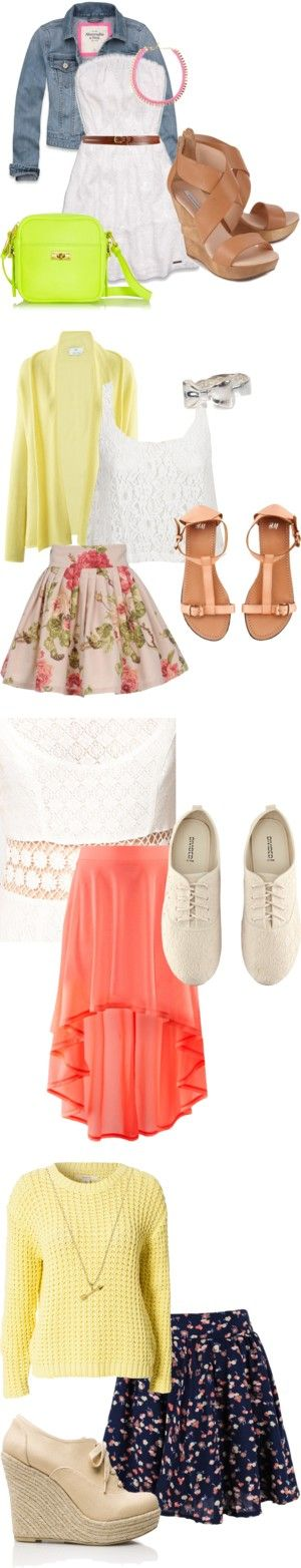 """Macbarbie07 easter outfits"" by tomlinson24s on Polyvore"