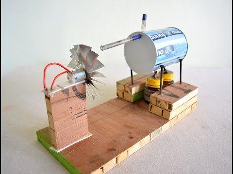 How to Make a Mini Air Compressor (Powerful Air Pump) Using Plastic Bottle - Tutorial - YouTube
