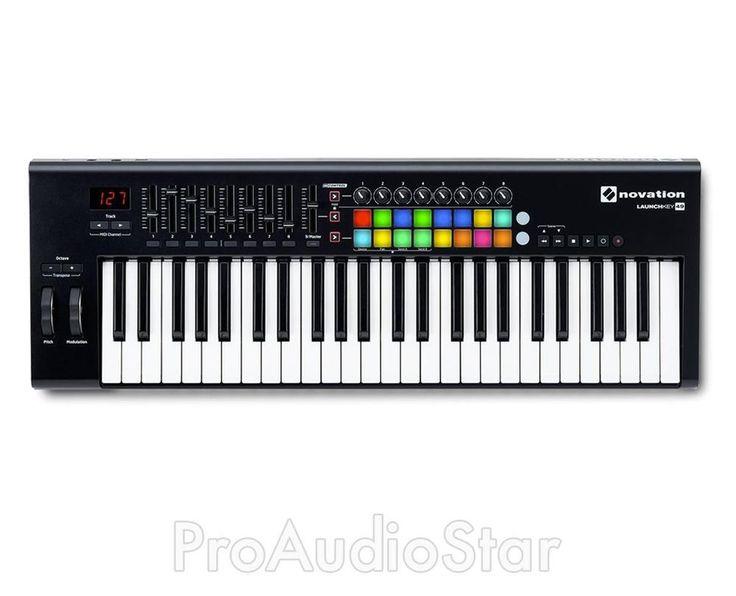 Novation Launchkey 49 MKII - USB MIDI Controller Keyboard 49 Keys PROAUDIOSTAR $199