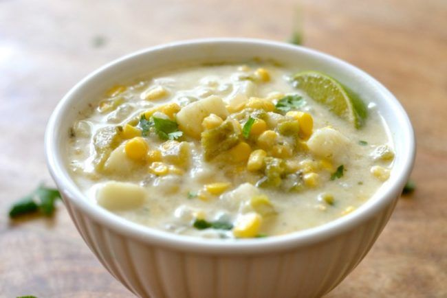 New Mexico Hatch Green Chile Chowder – I am New Mexico