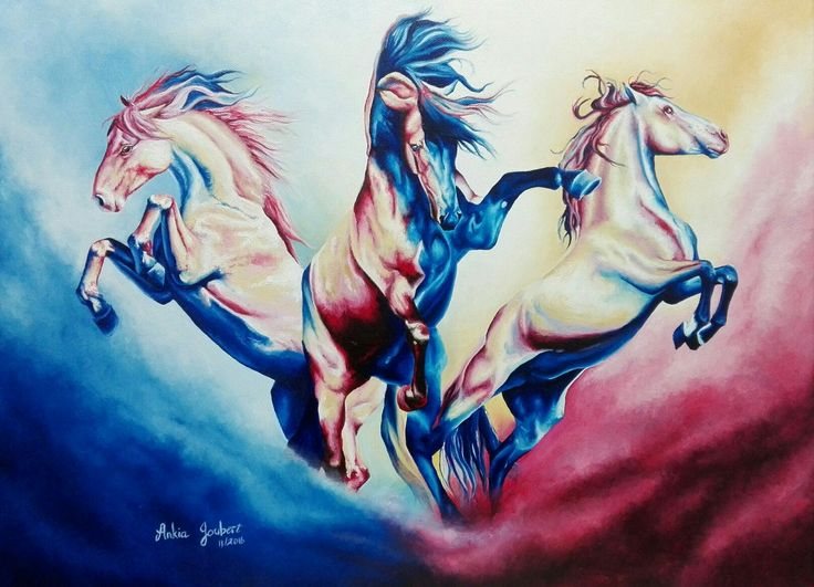 """""""Born to be Wild"""" Oil on Canvas 60.5cm x 45.5cm Available"""