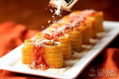 Receita de Lasanha frita em receitas de massas, veja essa e outras receitas aqui!