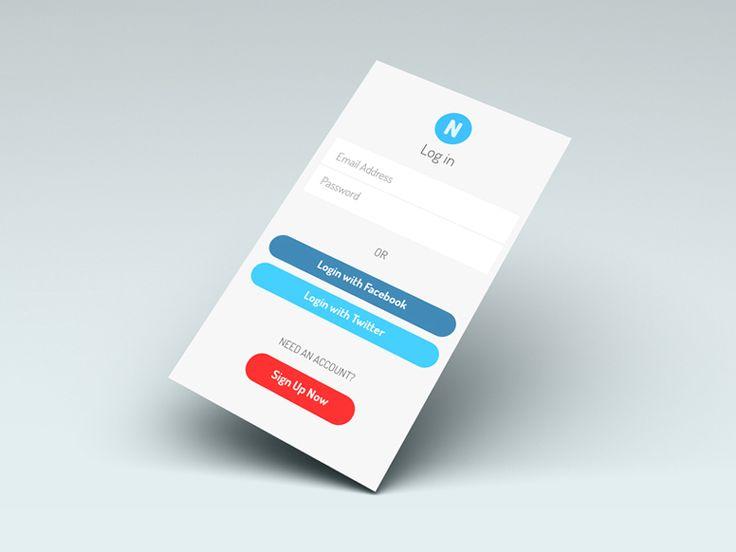 Free: Notify Login App Screen