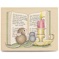 @Overstock - Stampabilities House Mouse rubber stamps have the right stamp for any holiday or special occasionThis wood-mounted rubber stamp features a Christmas Tale designRev-up your scrapbooking and craft projects with a rubber stamphttp://www.overstock.com/Crafts-Sewing/House-Mouse-Christmas-Tale-Wood-mounted-Rubber-Stamp/4615676/product.html?CID=214117 $9.89