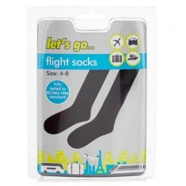These flight socks have the British Safety Standard to ensure you are safe and comfortable on any long journeys. Amazing value for money, such a great product.