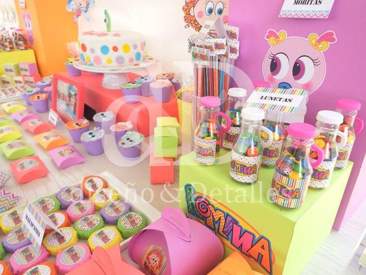 mesa de dulces temática distroller fiestas infantiles