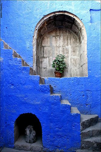 The colors of Peru are unrivaled. Photo from Arequipa, Peru.