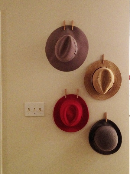 17 best ideas about organize hats on hat