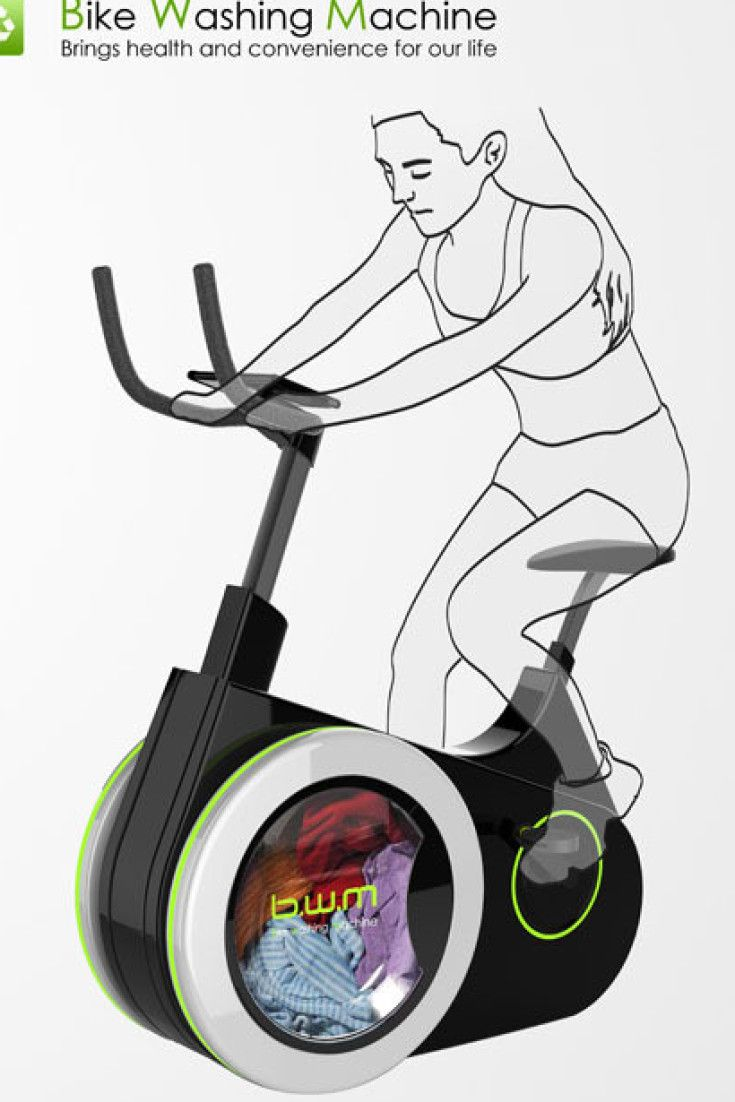 New Bike Washing Machine Lets You Work Out While You Wash