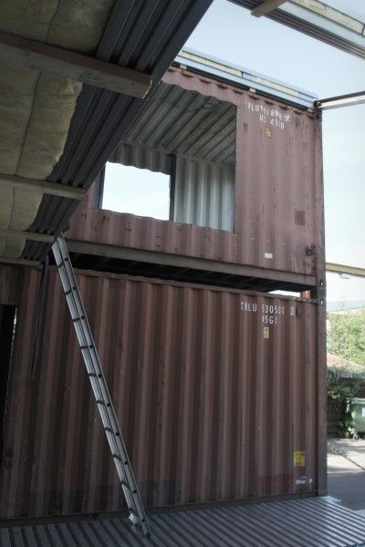 house from containers, picture