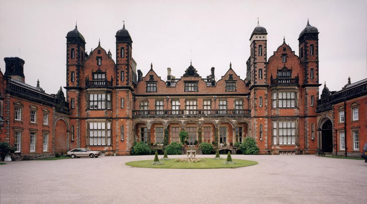 The beautiful Capesthorne hall, Macclesfield, Cheshire- one of our UK Tour Venues for this summer!