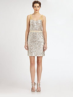 gatsby glam ERIN by Erin Fetherston - Sequined Dress via saks