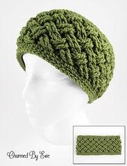 Ravelry: Aislinn Celtic Dream Head Wrap Ear Warmer pattern by Janaya Chouinard