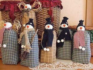 My toys: Snowman. Patterns.Снеговик. Выкройки.