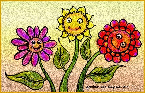 Contoh Mewarnai Bunga Matahari Wwwgambar Mewarnaicom Gambar
