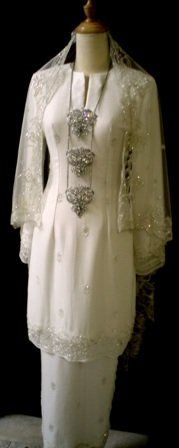 Baju nikah traditional theme