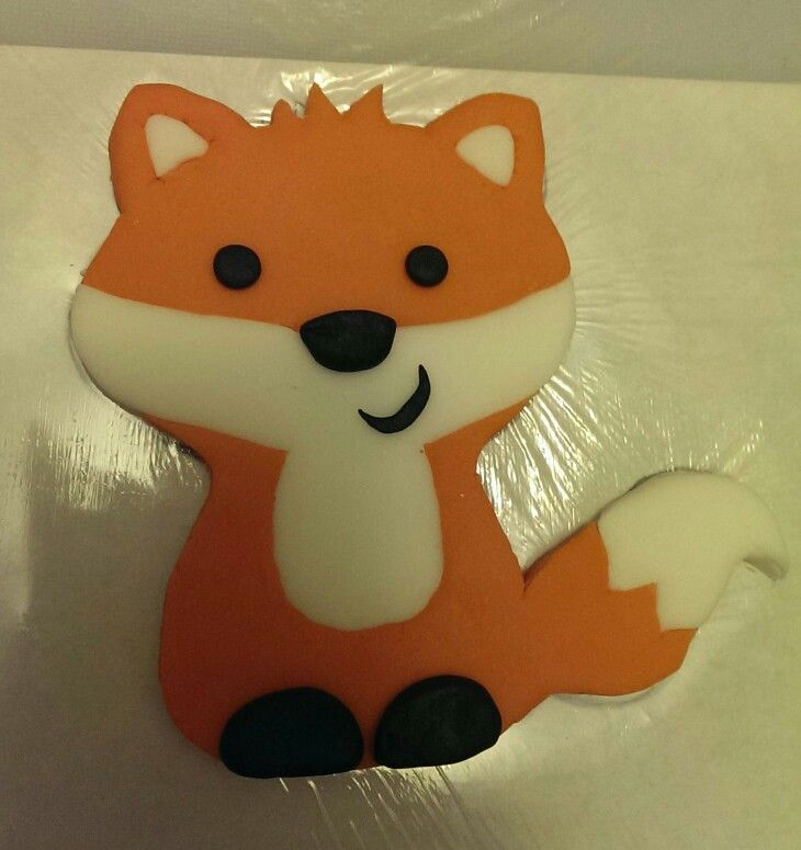 27 Best Foxey Images On Pinterest Fox Cake Baby Shower