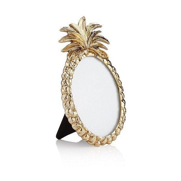 Pineapple Photo Frame 3 5 X 5cm 1 4 X 2 Marks Spencer