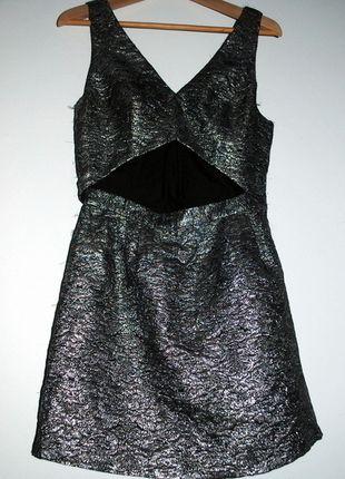 Kup mój przedmiot na #vintedpl http://www.vinted.pl/damska-odziez/sukienki-wieczorowe/8027953-sparkle-blyszczaca-sukienka-topshop-rozm-40-wyciecie-z-przodu