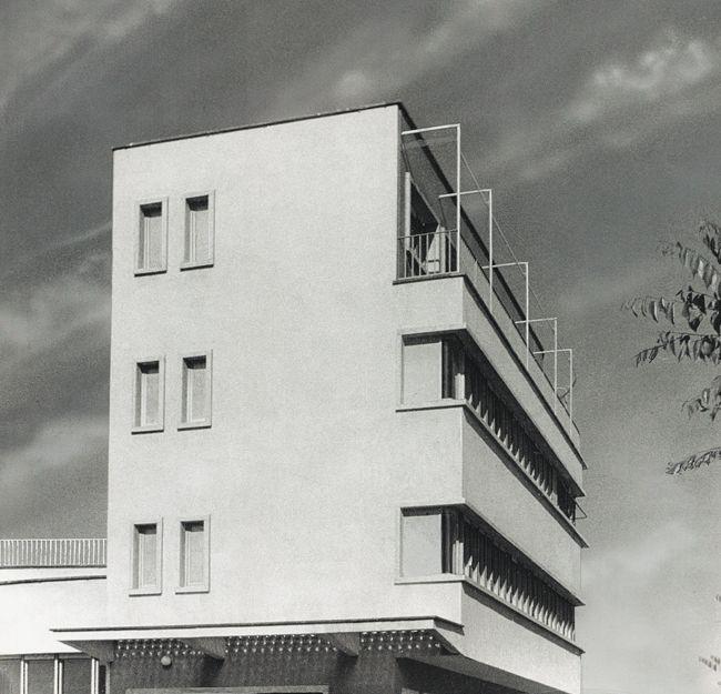 Carlo Mollino, FAC Headquarters, 1934