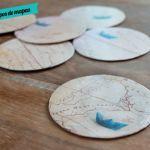 DIY: como fazer um porta-copos de mapa