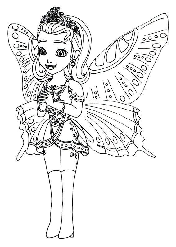 Disegni Da Colorare Fate E Principesse.60 Disegni Di Sofia La Principessa Da Colorare Con Immagini Libri Da Colorare Principesse Disegni Da Colorare