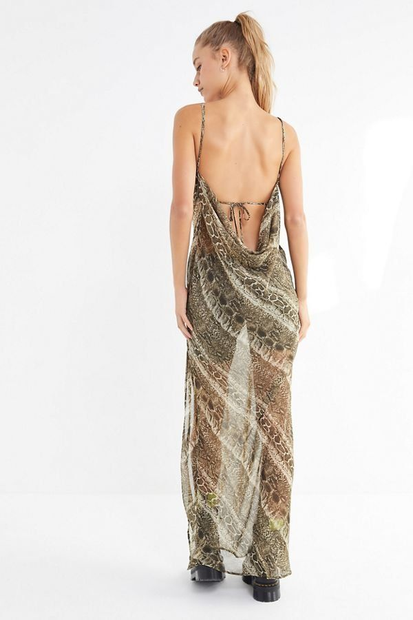b15da6d31fae I.AM.GIA Zeta Sheer Cowl Neck Maxi Dress   New Arrivals   Dresses ...