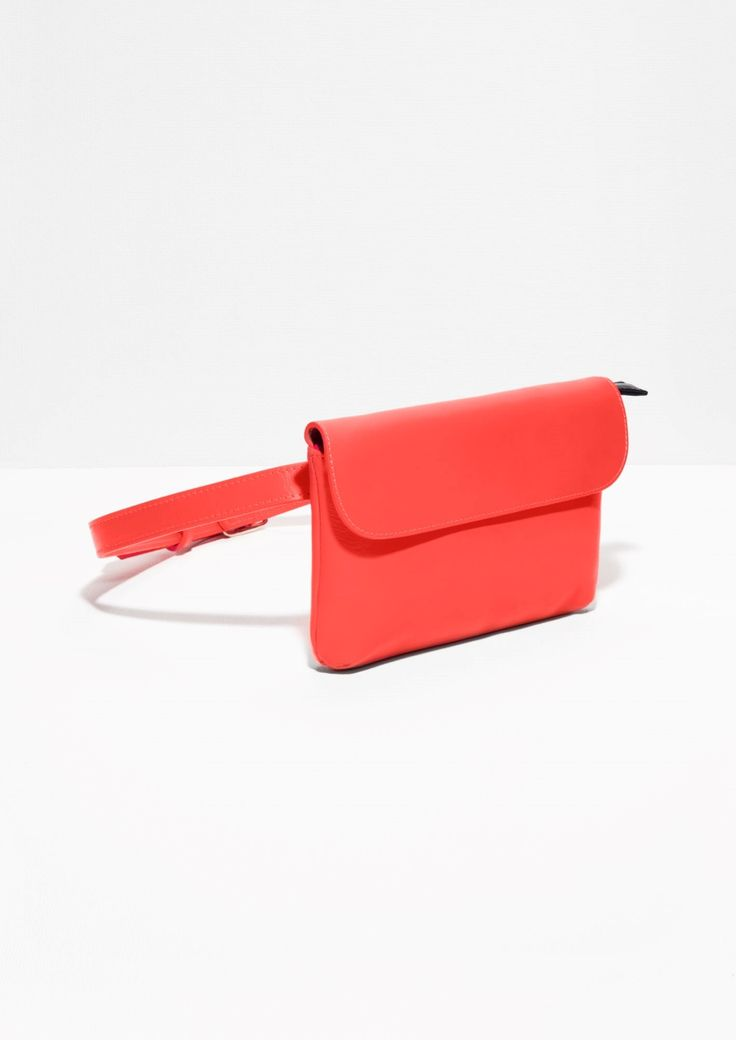 & Other Stories | Clare Vivier Leather Bum Bag
