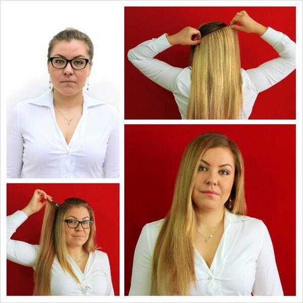 Echthaar Clip In Extensions für das schnelle neue Styling mit Glamour garantie! http://www.real-russian-hair.com